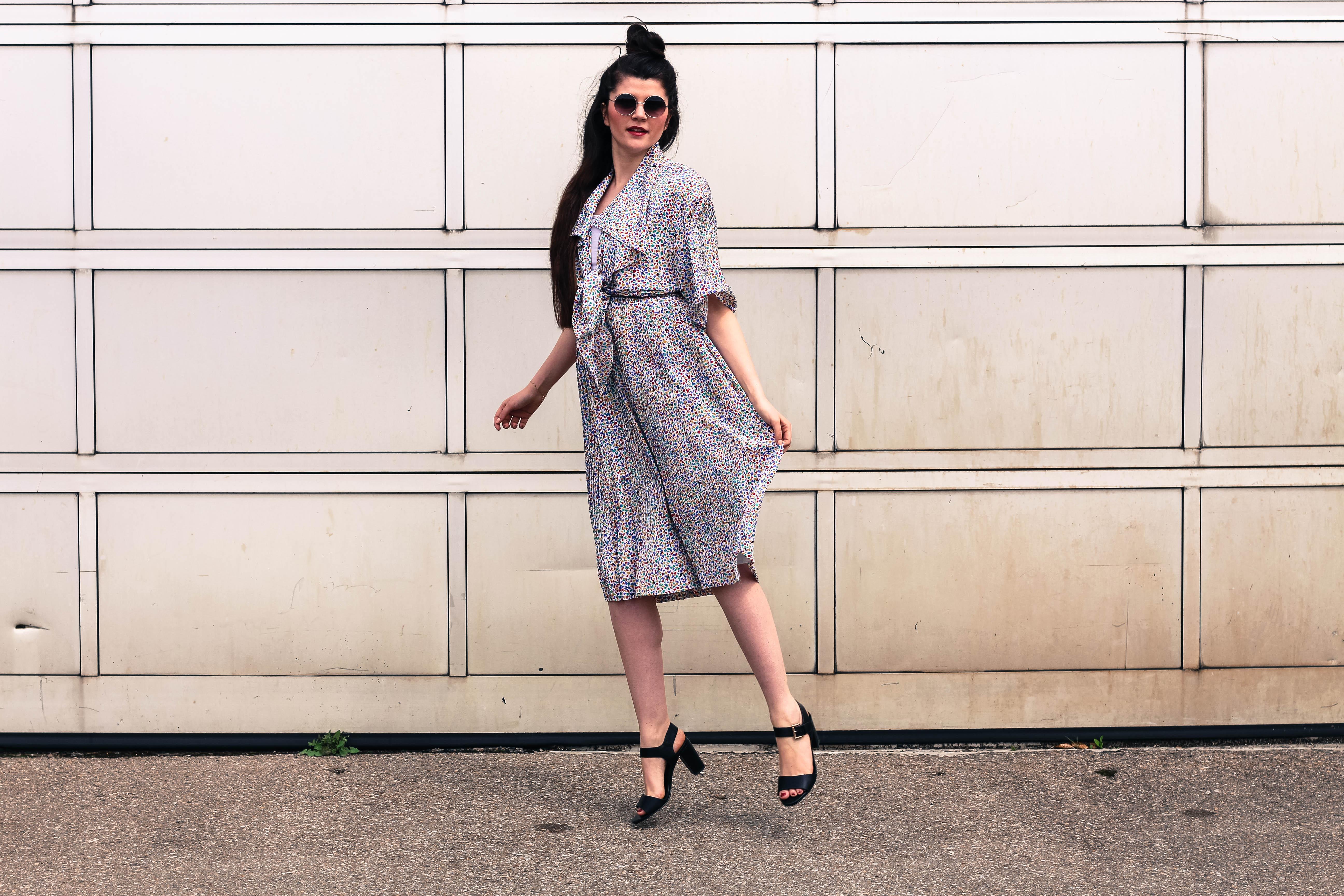 Vintage Dress Summer Outfit